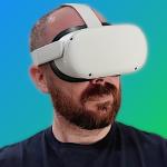Alehandoro VR probando las Oculus Quest 2