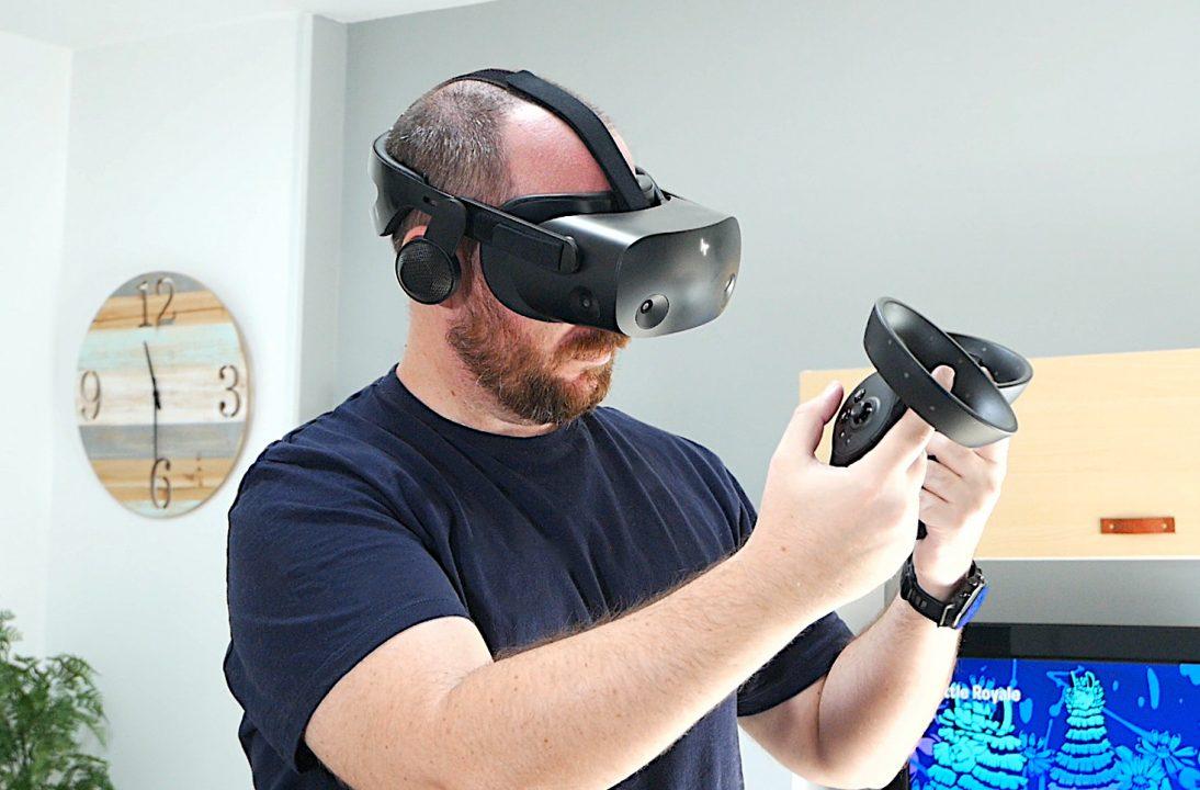 Alehandoro VR probando las HP Reverb G2