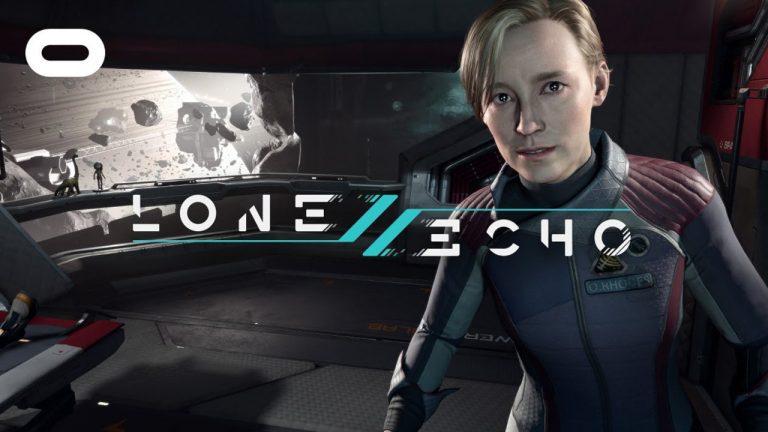 Jugando a Lone Echo con las Oculus Rift S