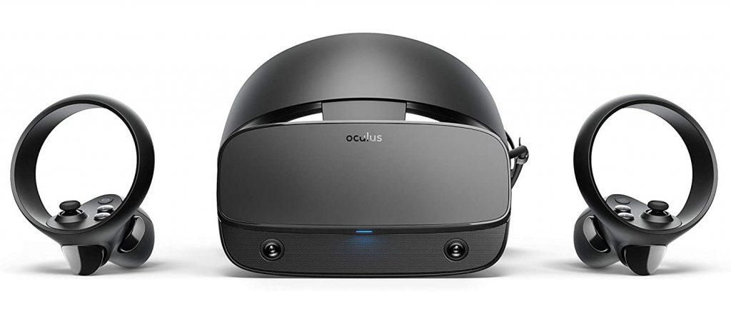 Oculus Rift S de frente en Top juegos de Realidad Virtual