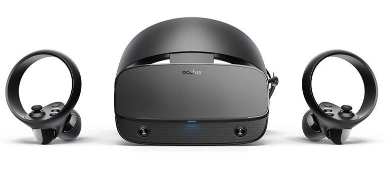 Oculus Rift S de frente