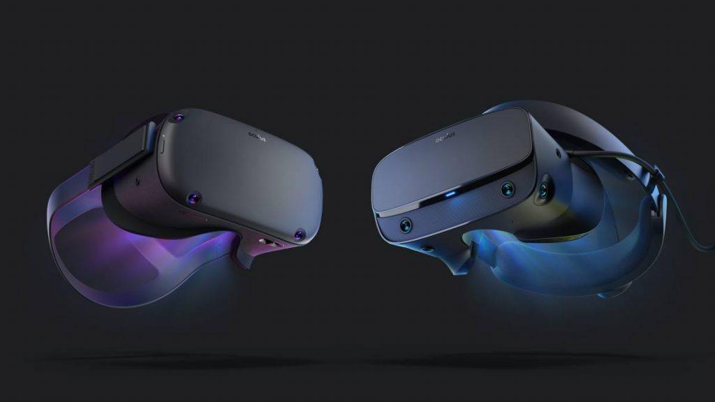 Oculus Quest enfrentadas a las Oculus Rift S