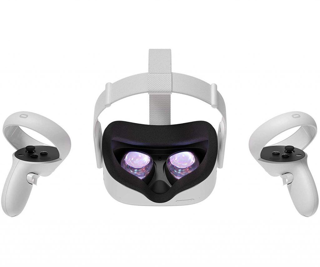 Oculus quest 2 desde atras