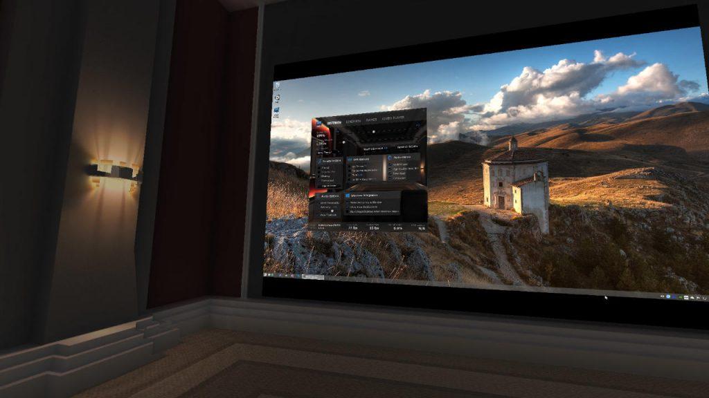 Virtual Desktop usando Wi-Fi para Oculus Quest 2