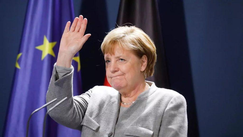 La canciller Alemana Merkel