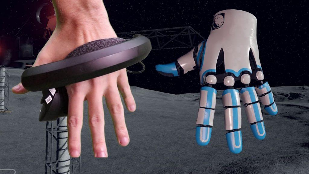 Controladores de Valve Index o Knuckles qu eusaremos para conectar a las Reverb G2