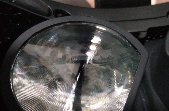 Arreglar arañazos lente gafas vr