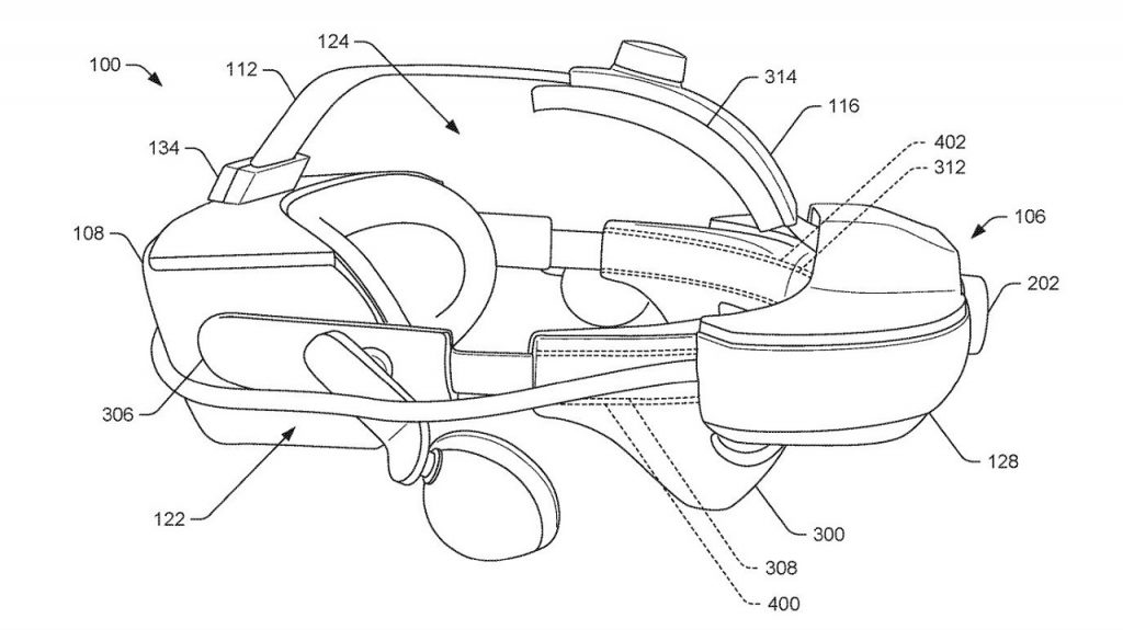 patente nuevo visor VR Standalone de Valve
