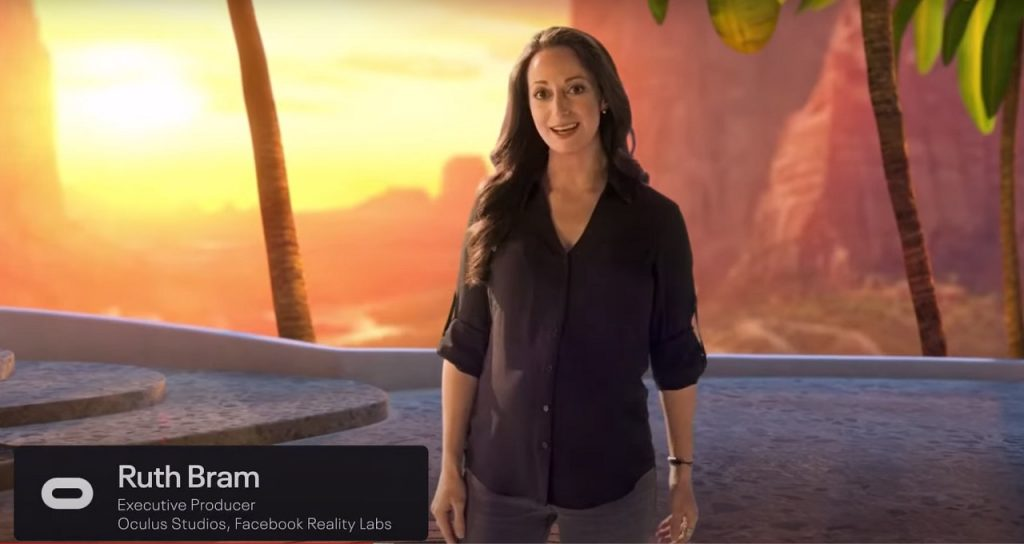 Ruth Bram en la Oculus Gaming Showcase