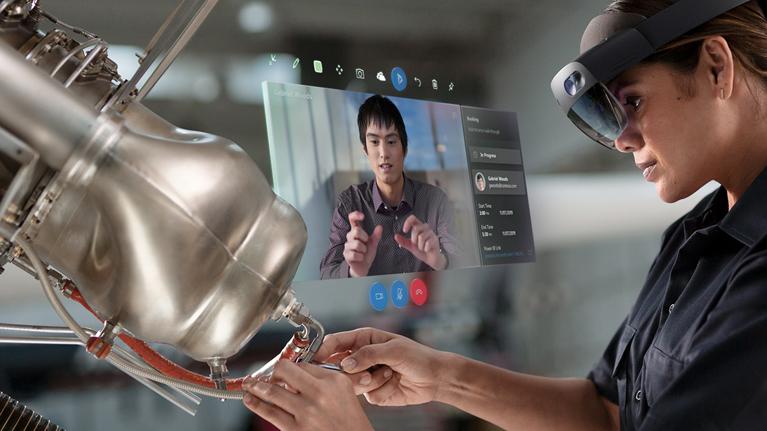 Imagen en el artículo Hololens 3 gafas AR de Microsoft
