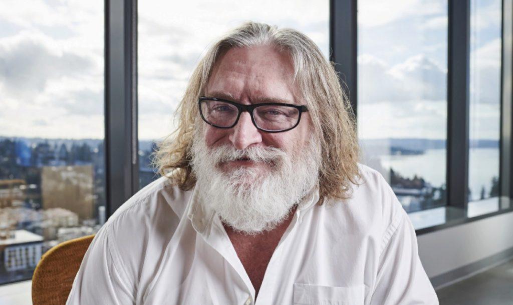 Gabe Newell director de Valve